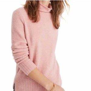 Madewell Inland Turtleneck in Coziest Yarn New NWT